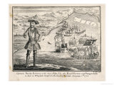 Bartholomew Roberts Giclee Print by Benjamin Cole