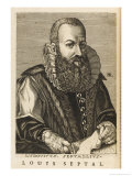 Luigi Settala Italian Medical Giclee Print by Nicolas de Larmessin