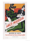 Poster for Amer Mauguin Digestive Aperitif Liege Giclee Print by  Berchmans