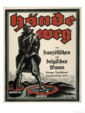 Germans Warned off Buying French and Belgian Goods During the Occupation Giclee Print by  Frenzel