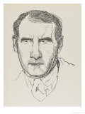 Sean O'Casey Irish Playwright Giclee Print by Powys Evans