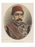 Abdul Hamid II, Ottoman Sultan Giclee Print by W&d Downey