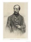 Giuseppe Mazzini Italian Patriot Giclee Print by Ferdinand Perrin
