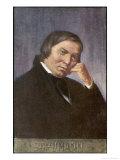 Robert Schumann German Musician Giclee Print by  Eichhorn