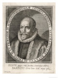 Jacobus Arminius Dutch Theologian and Reformer Giclee Print by Theodor de Bry
