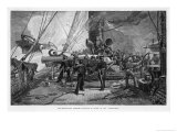Scene Showing the Sailors Giclee Print by J.o. Davidson