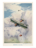Carrying Mail by Air is Seen as a Real Possibility Giclee Print by G.h. Davis