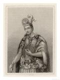 Montezuma II, Aztec Emperor of Mexico Giclee Print by C. Cook