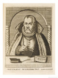 Matthaeus Van Wesenbeke Dutch Jurist Giclee Print by Esme De Boulonois