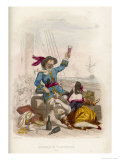 Welsh Buccaneer Governor of Jamaica Giclee Print by A. Debelle