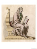 Gregoire De Tours French Bishop Historian and Saint Giclee Print by L. Boulanger