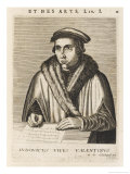 Juan Luis De Vives Spanish Humanist and Philosopher Giclee Print by Esme De Boulonois