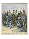 Austrian Army: Various Uniforms Giclee Print by Henri Meyer