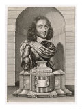 Elias Ashmole Antiquary (Ashmolean Museum) and Astrologer Giclee Print by W. Faithorne