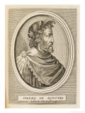 Pierre Ronsard French Poet Giclee Print by Nicolas de Larmessin