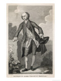 An 18th Century English Aristocrat, Gustavus Viscount Boyne Giclee Print by T. Cook