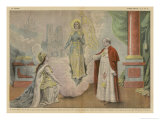 Jeanne D'Arc a Patron Giclee Print by Eugene Damblans