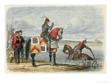 Duke of Buckingham on His Way to Fight Richard Find the Severn Impassable Giclee Print by James Doyle