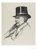 Walter Richard Sickert Artist Giclee Print by Powys Evans