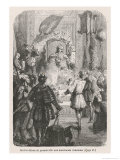 Marco Polo at the Court of Kublai Khan Giclee Print by  Collingridge