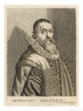 Hendrik Goltzius Dutch Engraver Etcher and Painter Giclee Print by Esme De Boulonois