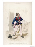 French Corsair of the Republican Period Giclee Print by A. Debelle