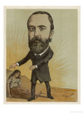 Charles Stewart Parnell, Irish Nationalist Politician Giclee Print by Amand Brussels