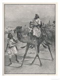 Haji Mahomed Bui Abdullah Known as the Mad Mullah Often Defeated by the British Giclee Print by Frank Feller