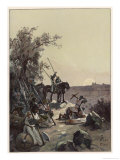 The Crusaders Have Their First Sight of Jerusalem Giclee Print by Adolf Closs