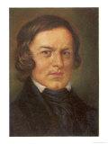 Robert Schumann German Musician Giclee Print by Hans Best