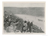 The Marathon Winner Arrives in the Stadium Giclee Print by Andre Castaigne