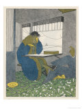 Tecla for Jewellery, 10 Rue De La Paix Paris Giclee Print by Pierre Mourgue