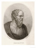 Socrates Athenian Philosopher Giclee Print by Madame Bovi