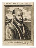 Girolamo Mercuriale Italian Medical Giclee Print by Nicolas de Larmessin