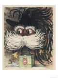Umberto I King of Italy from 1878 Caricatured as a Frightening Jack-In-The-Box Giclee Print by E. Cadel