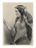 Eleanor of Provence Queen of Henry III and Mother of Edward I of England Giclee Print by B. Eyles
