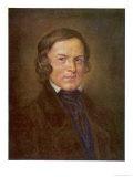 Robert Schumann German Composer Giclee Print by Hans Best