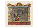 Punch Kills the Devil Giclee Print by George Cruikshank