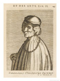Pandolfo Collenuccio Italian Historian Giclee Print by Esme De Boulonois