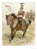16th Queen's Lancers Giclee Print by John Charlton