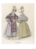 Bonnets by Mme. Lepetit Giclee Print by  Gatine