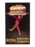 Royal Baking Powder Giclee Print by Jean D &#39; Ylen