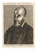 Fulvio Orsini Italian Philologist Giclee Print by Nicolas de Larmessin