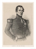 Leopold I King of Belgium Giclee Print by A. Collette