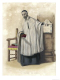 Saint Vincent de Paul French Priest Giclee Print by Geille