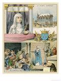 Blanche de Castile Giclee Print by Melville Gilbert