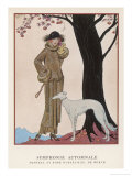 Design by Worth Reproduction procédé giclée par Georges Barbier