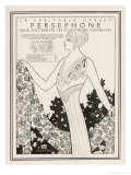"Just See What a ""Persephone"" Corset Can Do for Your Figure Giclee Print by Maxmillian Fischer"
