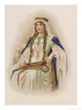Young Woman of the Norman Nobility Giclee Print by Lydia Frances
