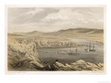 Laying the Shore End of the Cable at Port Magee Ireland Giclee Print by Robert Dudley